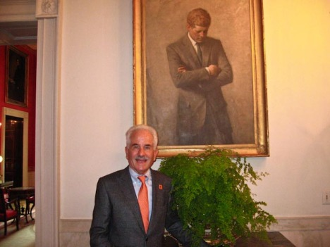 SFFB's Gary Maxworthy at the White House
