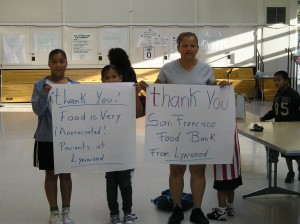 thank you from lynwood elementary school